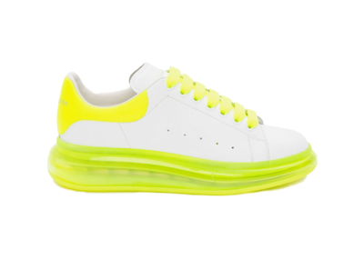 Alexander McQueen Oversized Fluo Yellow Sole 604232 WHX9W 9179