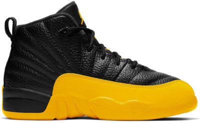 Jordan 12 Retro Black University Gold (PS) 151186-070
