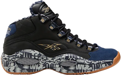 Reebok Question Mid Schoenen Black / Collegiate Navy / Mgh Solid Grey