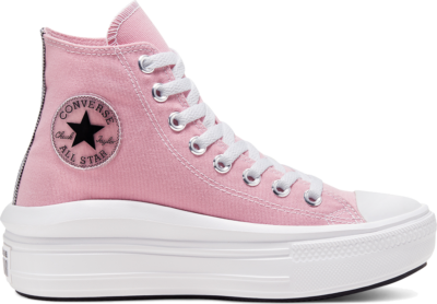 Converse Chuck Taylor All Star Move High Top Lotus Pink/Black/White 568795C