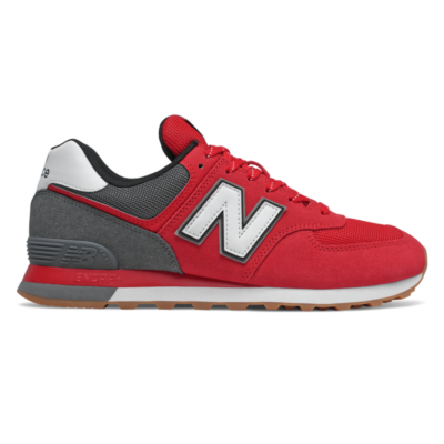 New Balance 574 Team Red/Lead ML574SKD
