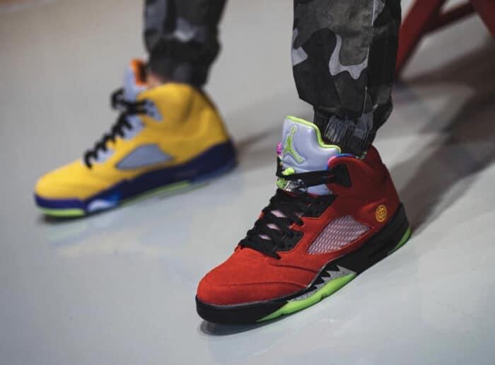 5 Air Jordan nike what the