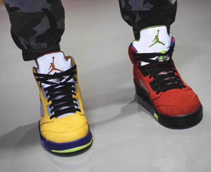 what the Air Jordan nike 5