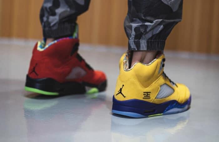 Nike Air force jordan 5 air