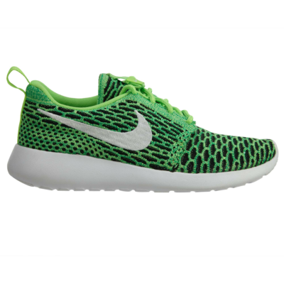 Nike Roshe One Flyknit Voltage Green White-Lucide Green (W) 704927-305