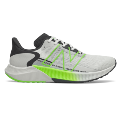 Herren New Balance FuelCell Propel v2 White/Energy Lime