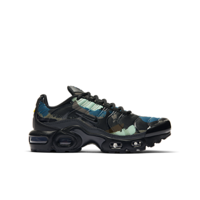 Nike Air Max Plus Camo Black Green (GS) DB2608-001