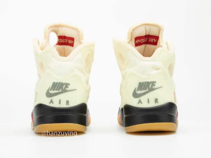 Nike Air Jordan 5 off white