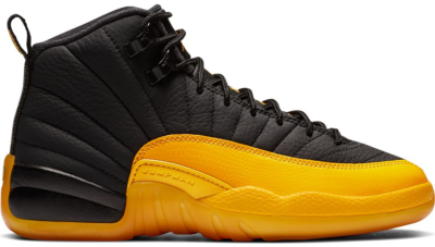 Jordan 12 Retro Black University Gold (GS) 153265-070