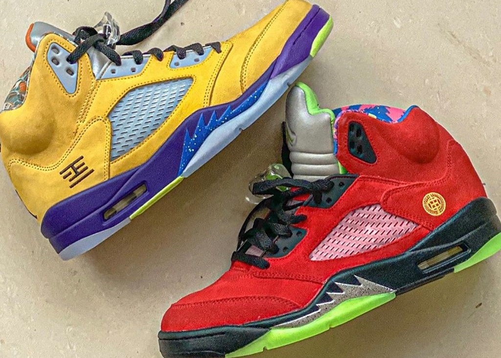 In november krijgen we een 'What The' colorway van de Air Jordan 5
