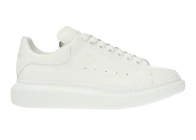 Alexander McQueen Oversized White Print 611190 WHXM4 9035