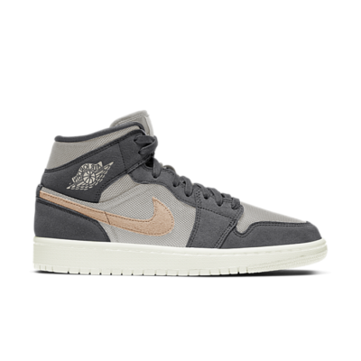 "Air Jordan WMNS 1 MID ""IRON GREY"" BQ6472-020"
