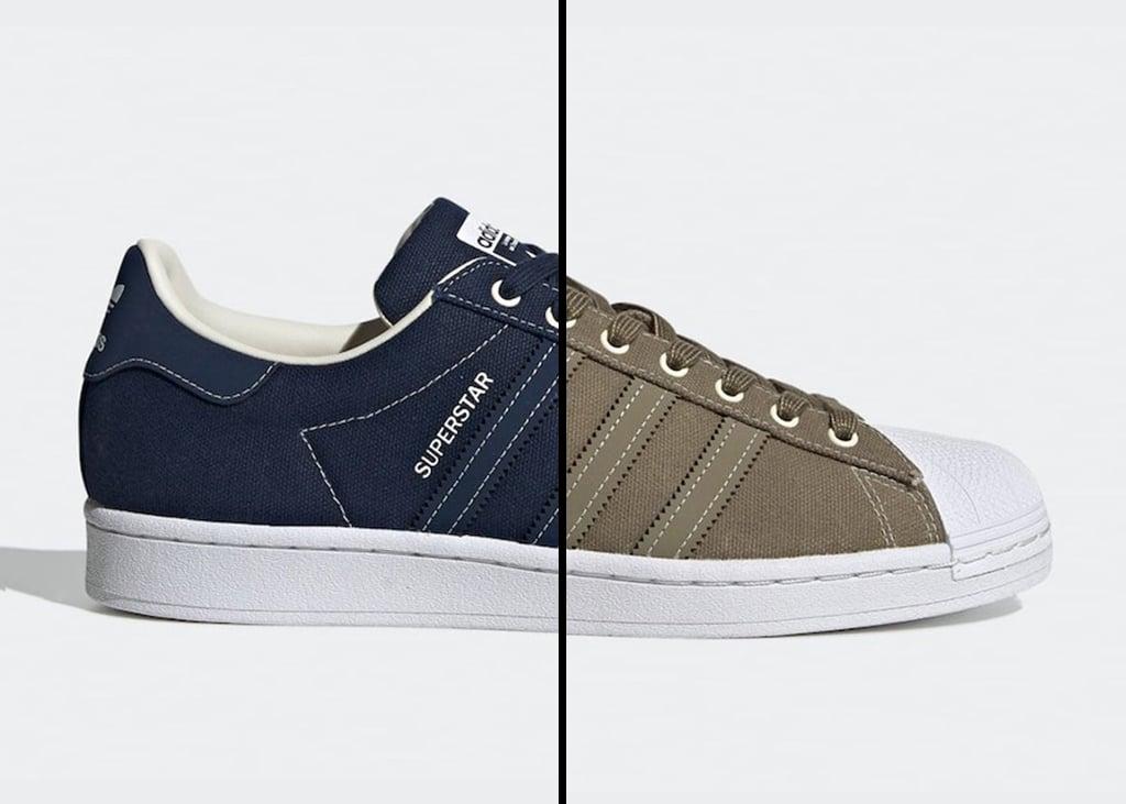 Nieuwe adidas Superstar verschijnt binnenkort met canvas upper