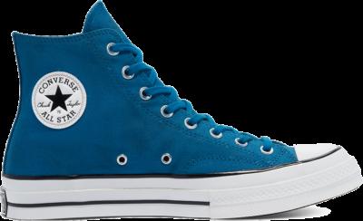 Converse Unisex Distressed Chuck 70 High Top Cape Blue/White/Black 169776C