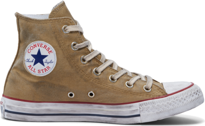 Converse Waxed Canvas Chuck Taylor All Star High Top Brown Waxed Winterized 169136C