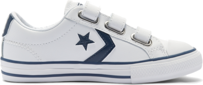 Converse Big Kids Easy-On Star Player Low Top White 646140C