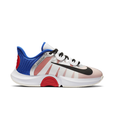 NikeCourt Air Zoom GP Turbo White Racer Blue Light Crimson (W) CK7580-100