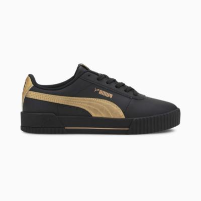 Puma Carina Meta20 sportschoenen voor Dames Goud / Zwart 373229_03