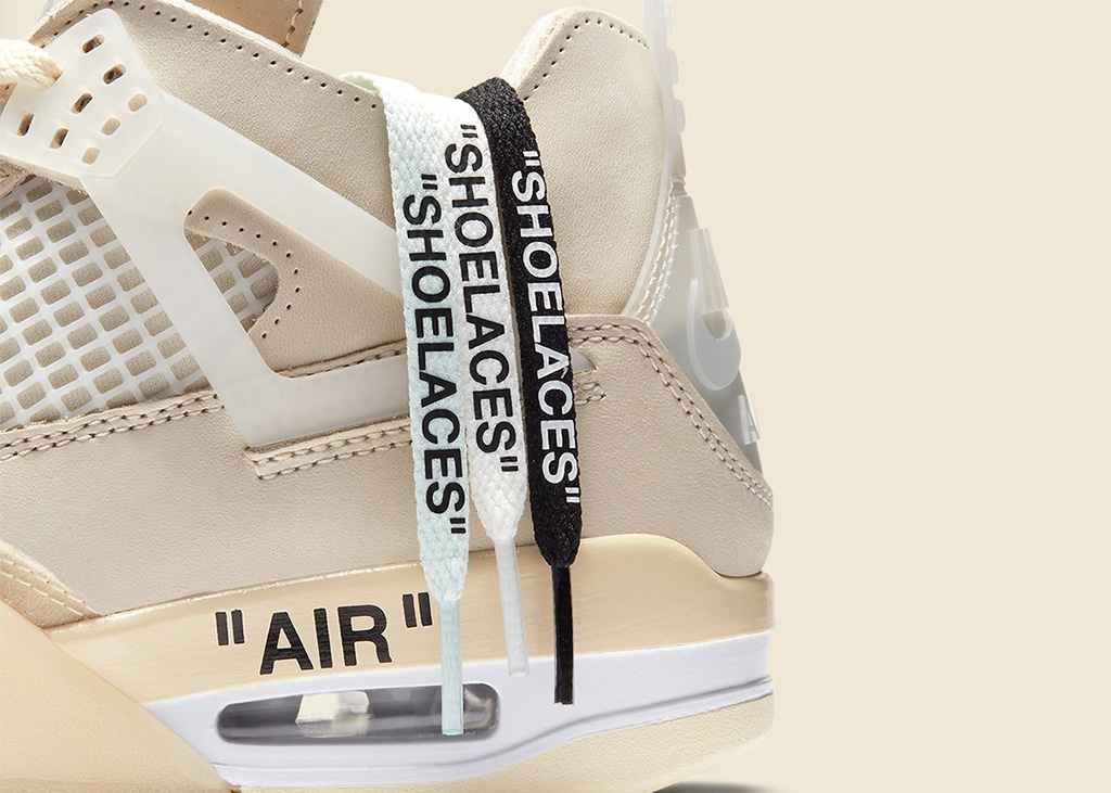 Schoonheden op zondag: officiële foto's van de Air Jordan 4 x Off-White