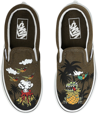 VANS Dineapple Floral Classic Slip-on Kinderschoenen  VN0A4BUT0I2