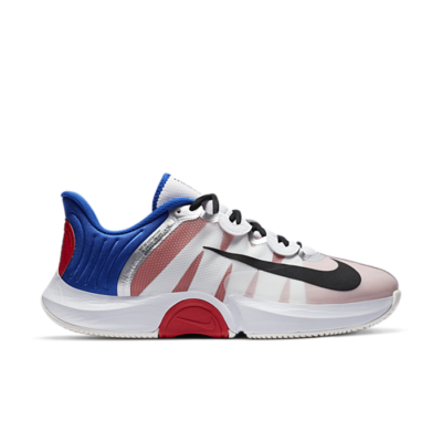 NikeCourt Air Zoom GP Turbo White Racer Blue Light Crimson CK7513-100