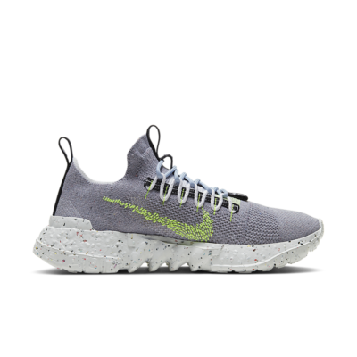 Nike Space Hippie 01 u2013 Volt 'This is Trash' Grey/Photon Dust/Volt Glow CQ3986-002