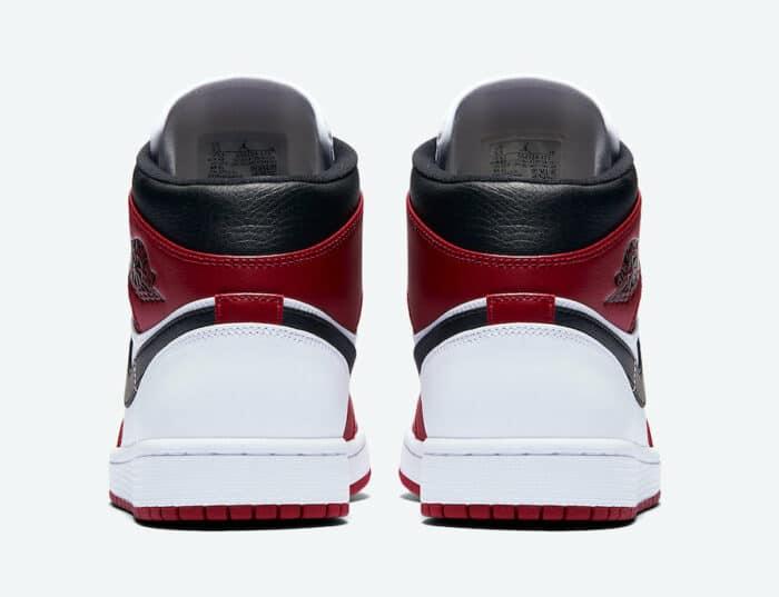 white heel back chicago Jordan 1 air