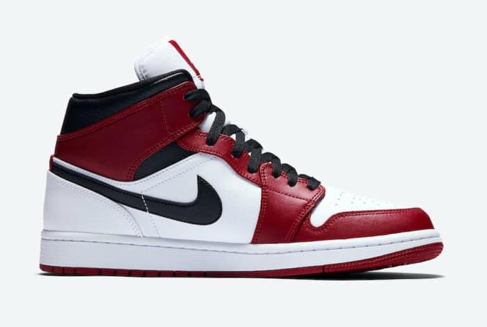jordan 1 chicago white heel