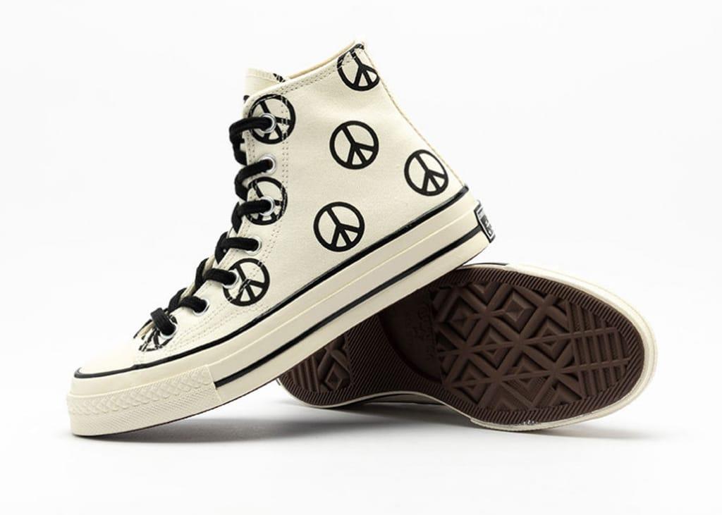 De nieuwe Converse All Star release komt in vrede