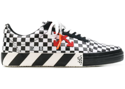 OFF-WHITE Checked Low Top Red Arrow SS18 OMIA085E183510019900