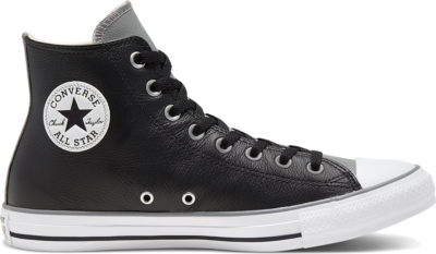 Converse Unisex Seasonal Color Leather Chuck Taylor All Star High Top Black 168538C
