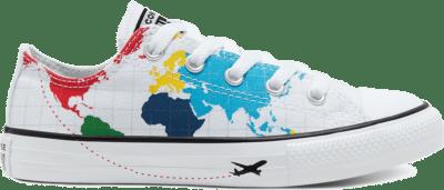 Converse Big Kids Geography Class Chuck Taylor All Star Low Top Black 668458C