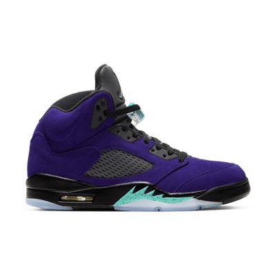 Air Jordan 5 'Purple Grape' Grape Ice/Black/Clear/New Emerald 136027-500