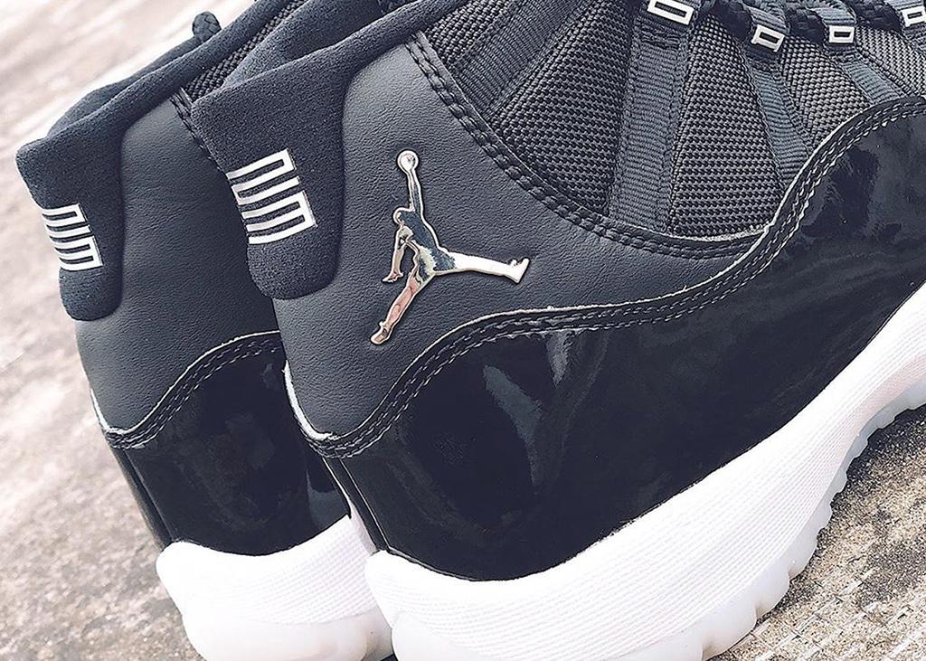 25 jaar excellentie: Air Jordan 11 Black Silver 'Anniversary Edition'