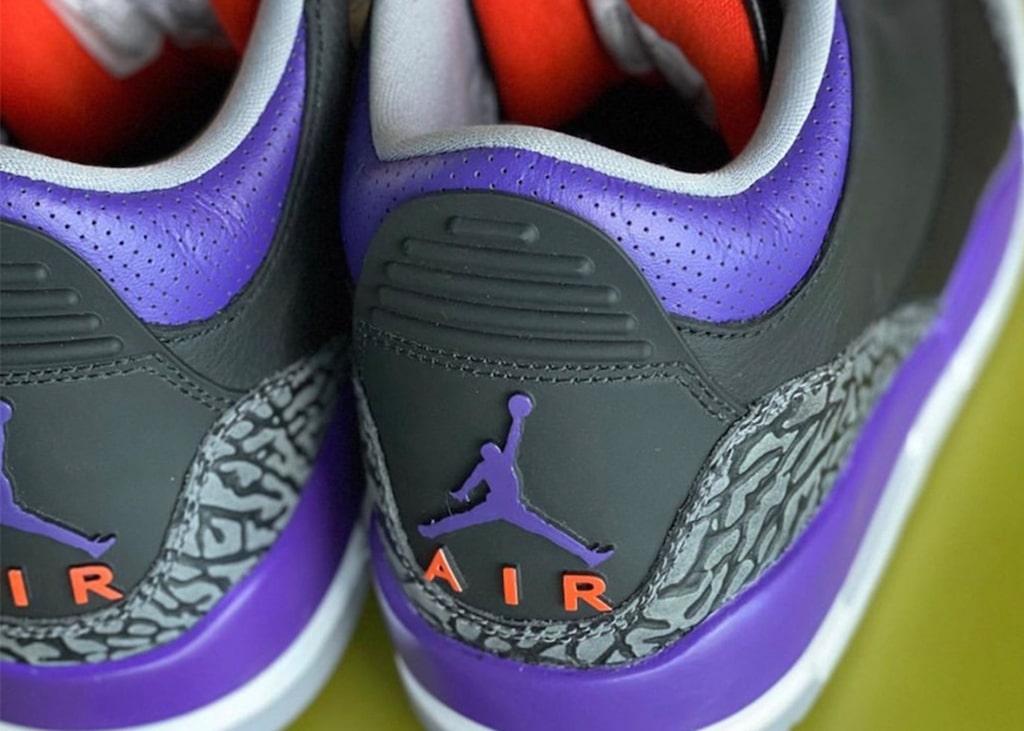 Gaat de Air Jordan 3 'Court Purple' toch wel door?