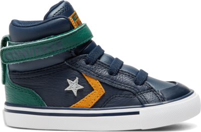 Converse Toddler Twill Twist Pro Blaze Strap High Top Obsidian/Midnight Clover 768425C