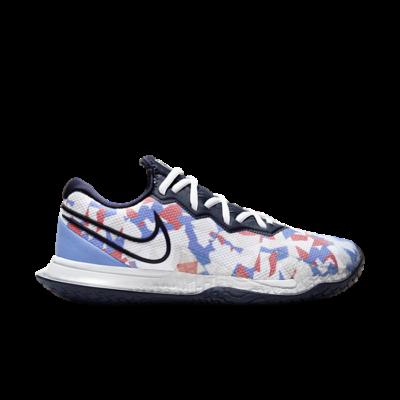 NikeCourt Air Zoom Vapor Cage 4 Hardcourt Blauw CD0431-406