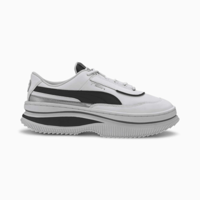 Puma Deva Mono Pop sportschoenen voor Dames Wit / Zwart 373919_01