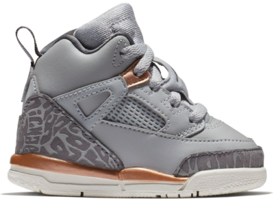 Jordan Spizike Wolf Grey Metallic Red Bronze (TD) 684932-018