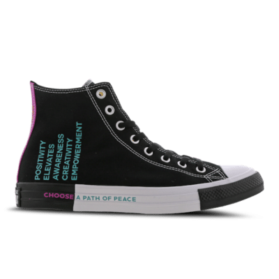Converse Chuck Taylor All Star Seek Peace High Black 166535C