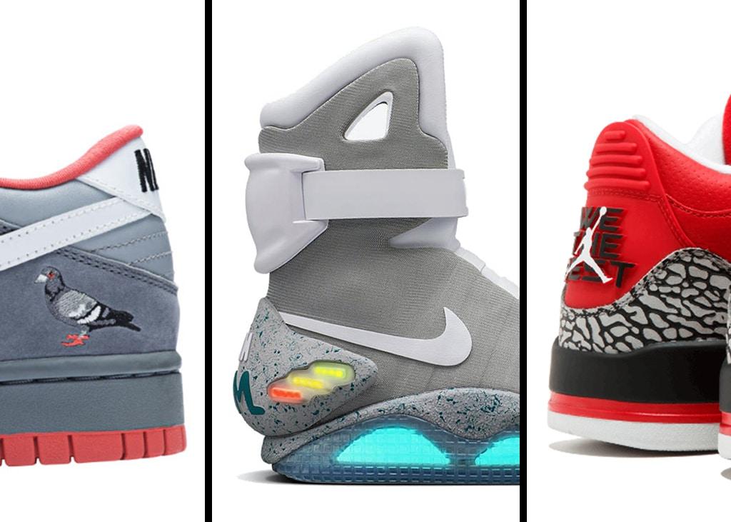 Drie van die: Nikes voor wie meer dan genoeg geld heeft