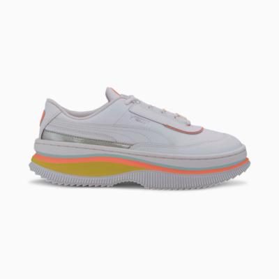 Puma Deva Mono Pop sportschoenen voor Dames Wit 373919_03