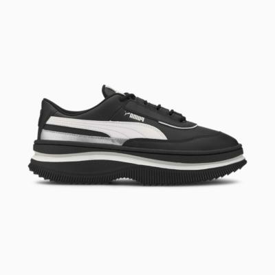 Puma Deva Mono Pop sportschoenen voor Dames Wit / Zwart 373919_02