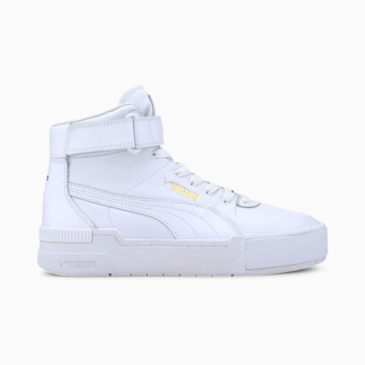 Puma Wmns Cali Sport Top Warm Up White  373436-01