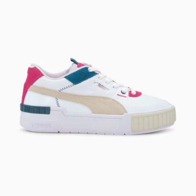 Puma Cali Sport Mix sportschoenen voor Dames Wit / Grijs 371202_05
