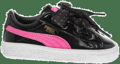 PUMA Basket Heart Stars Meisjes Sneaker 367822-02 zwart 367822-02