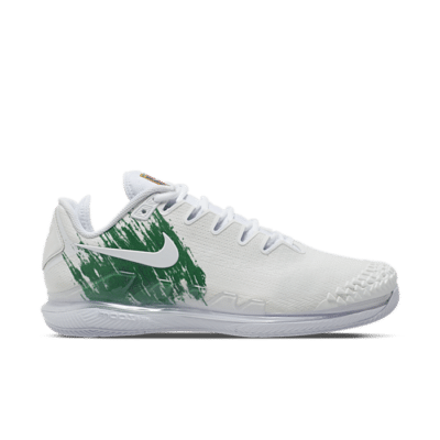 NikeCourt Air Zoom Vapor X Knit Hardcourt Wit AR0496-111
