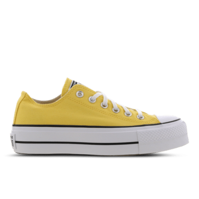 Converse Chuck Taylor All Star Platform Low Yellow 568627C
