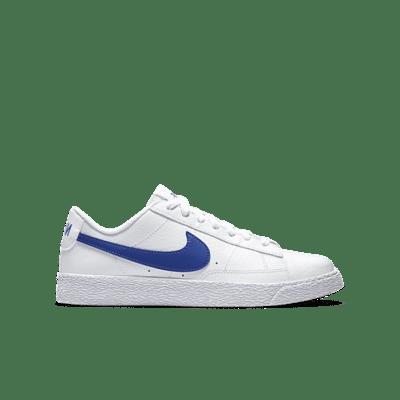 Nike Blazer Low GS 'White Astronomy Blue' White CZ7576-100