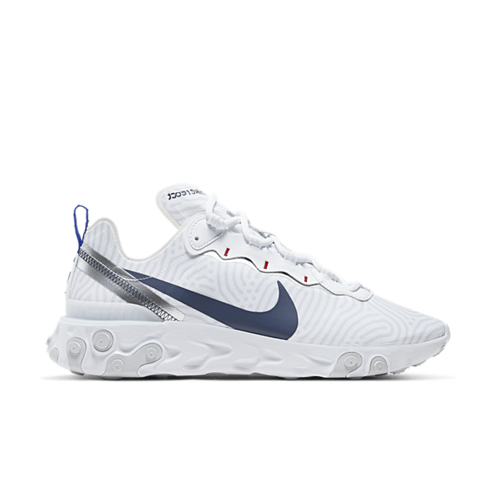 Nike React Element 55 Wit CW7576-100